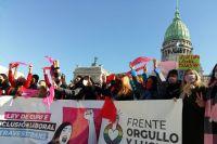 El Senado convirtió en ley el cupo laboral travesti-trans