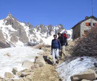 """""""Que la gente salga a la montaña es buenísimo, pero siempre con los resguardos"""""""