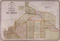La Biblioteca Nacional digitalizó un mapa rionegrino de 1924
