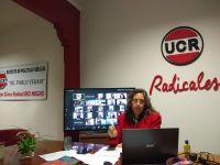 Asumió Dalceggio como presidenta de la UCR